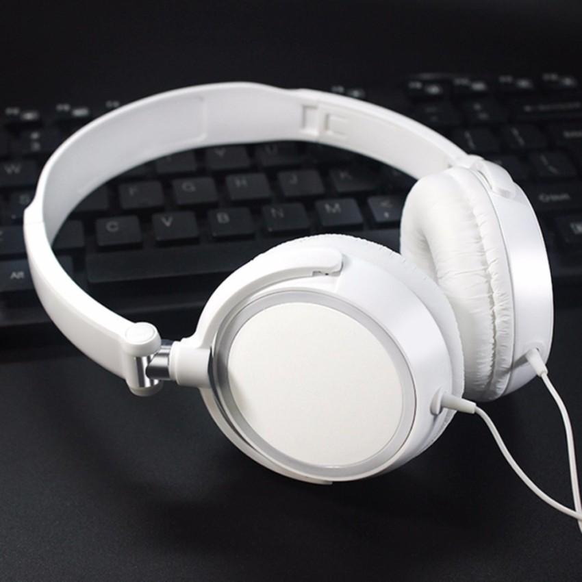 Tai nghe chụp tai F10 Màu Trắng có thể gấp gọn