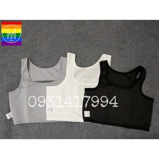 Áo nịt ngực ngắn dạng tròng (không gài, không khóa kéo) – Sản phẩm chuyên dùng cho Tomboy, Transguy