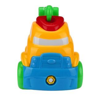 Đồ chơi lắp ráp hình xe cần cẩu cho trẻ luyện tư duy B1991