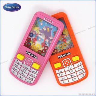 Máy chơi game bắn vòng nước, đồ chơi bắn vòng nước hình điện thoại thumbnail