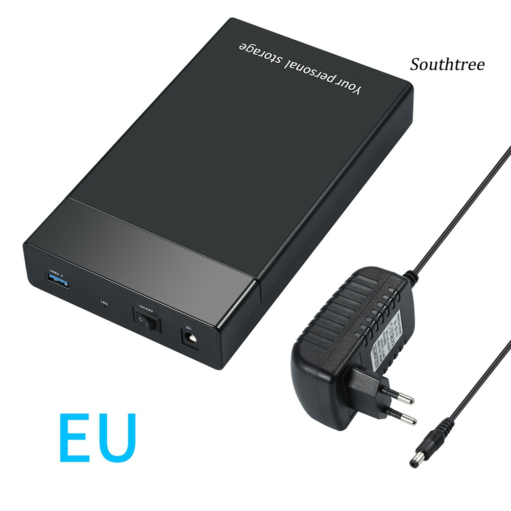 【Ready stock】High Speed USB 3.0 2.5/3.5inch SATA HDD Enclosure External Hard Disk Drive Case