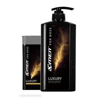 Combo Dầu gội 650g Sữa tắm nước hoa X-Men for Boss Luxury 180g