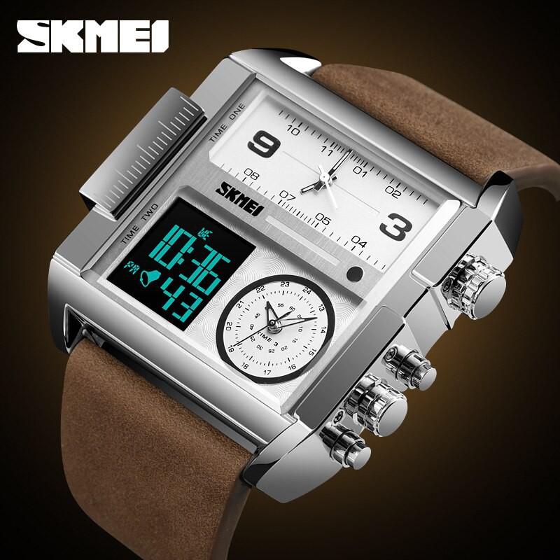 Đồng hồ nam dây da SKMEI S1391