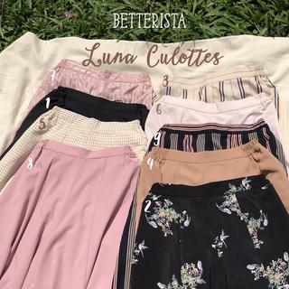 [Mã SKAMPUSHA7 giảm 8% tối đa 50K đơn 250K] Quần Váy Xoè Dáng Lửng Cạp chun kéo khoá Luna culottes Betterista thumbnail