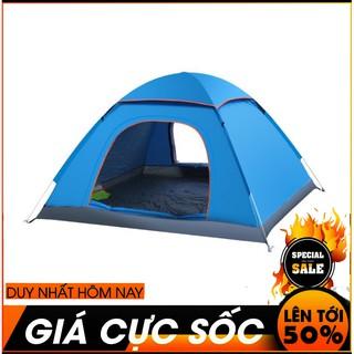 Yêu ThíchLều Cắm Trại Lều Phượt Lều Du Lịch Tự Bung Dành Cho 3-5 Người