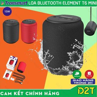 Tronsmart Element T6 Mini   PHIÊN BẢN MỚI   Loa Bluetooth 5.0 chống thấm nước IPX6,15W chơi nhạc lên tới 24 giờ