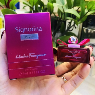[MINI] Nước Hoa Nữ Salvatore Ferragamo Signorina Ribelle EDP 5ml - Scent of Perfumes thumbnail