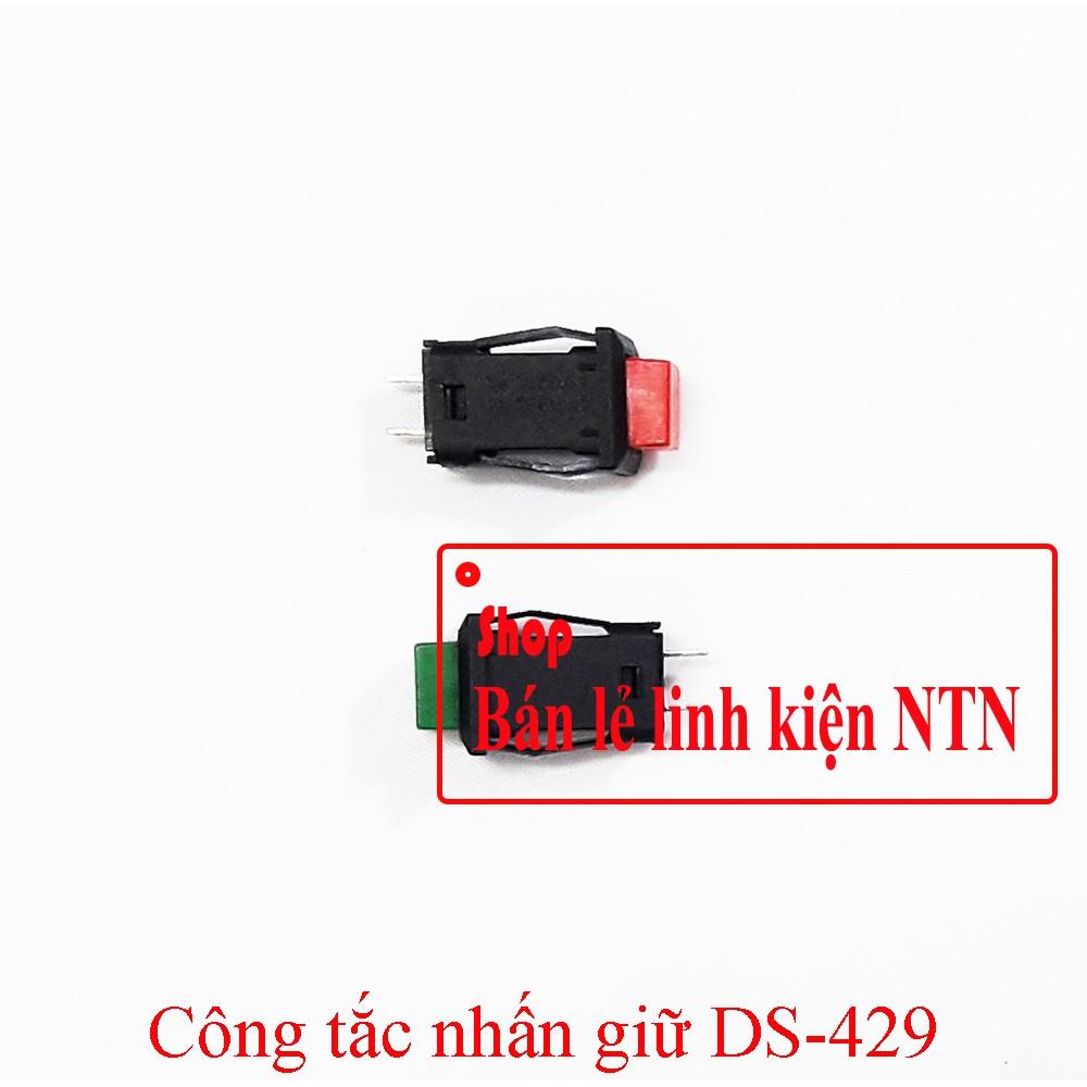 Công tắc nhấn giữ DS-429 các màu