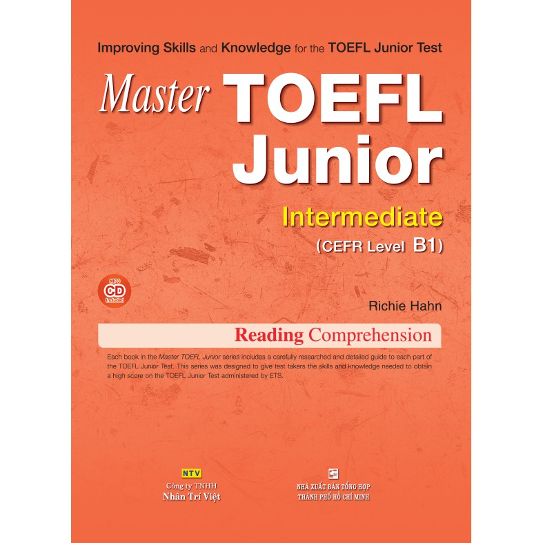 Master TOEFL Junior Intermediate: Reading Comprehension (kèm CD)