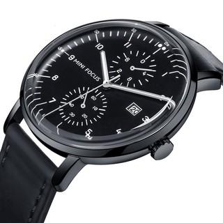 [Tặng vòng tay]Đồng hồ nam Mini Focus chính hãng MF0052G.03S dây thép chống gỉ