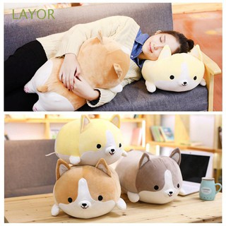 35cm/14″ Cartoon Kawaii Cute Animal Stuffed Corgi Dog Doll