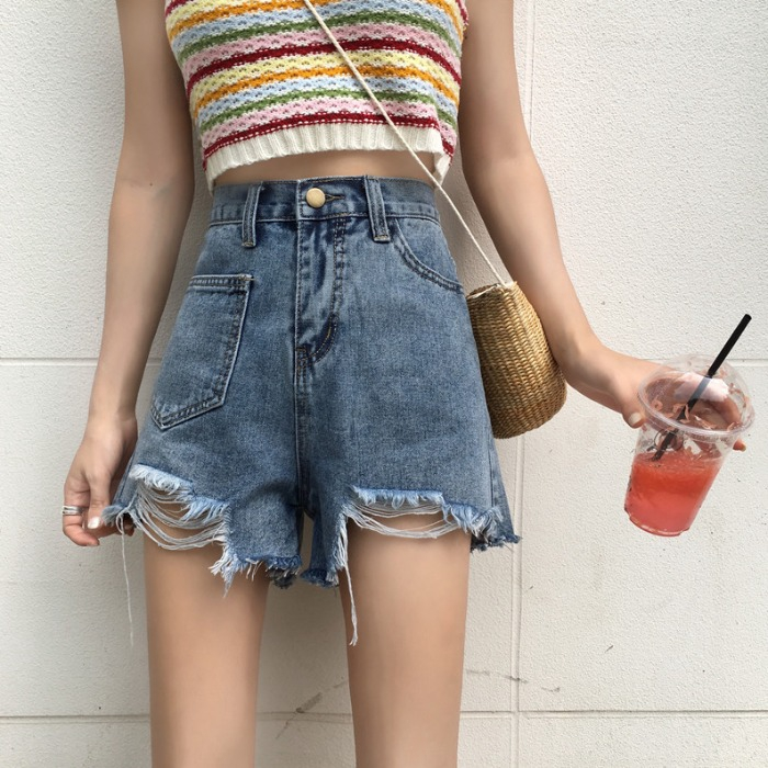 quần jeans dài lưng cao phối vết rách cá tính cho nữ - 14402357 , 2553621262 , 322_2553621262 , 298400 , quan-jeans-dai-lung-cao-phoi-vet-rach-ca-tinh-cho-nu-322_2553621262 , shopee.vn , quần jeans dài lưng cao phối vết rách cá tính cho nữ
