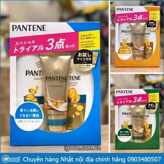 Bộ dầu gội xả Pantene set 3 Nhật Bản (mẫu 2020) thumbnail