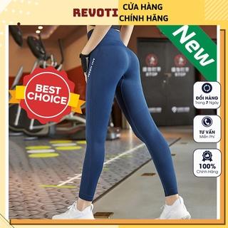 Quần Tập Gym Yoga aerobic nam, nữ vải dệt kim co giãn tốt mặc ôm dáng nâng mông tôn vòng 3 Cao Cao Cấp QYG01