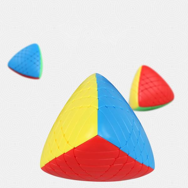 6X6X6 Special Zongzi Shape Brain Teaser Magic Cube Puzzle Toy
