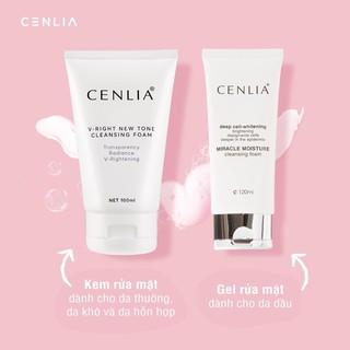 SỮA RỬA MẶT CENLIA [ PHÂN PHỐI CHÍNH HÃNG ] làm sạch dầu nhờn bụi bẩn trên da, giúp làm sáng da, ngăn ngừa mụn thumbnail