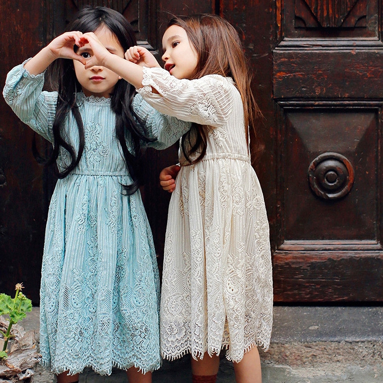 Đầm Ren Dài Tay Cho Bé Gái 2019 - 23077206 , 5410921937 , 322_5410921937 , 313500 , Dam-Ren-Dai-Tay-Cho-Be-Gai-2019-322_5410921937 , shopee.vn , Đầm Ren Dài Tay Cho Bé Gái 2019