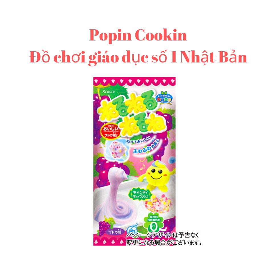 Popin cookin đồ chơi nấu ăn Nhật - bộ làm kẹo vị nho neru neru - popin poppin