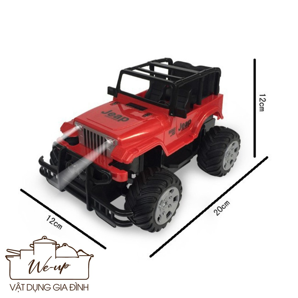 [SIÊU TIỆN LỢI]_ Đồchơi Cho Bé – Xe Jeep Off-Road Leo Núi Điều Khiển Từ Xa (254)