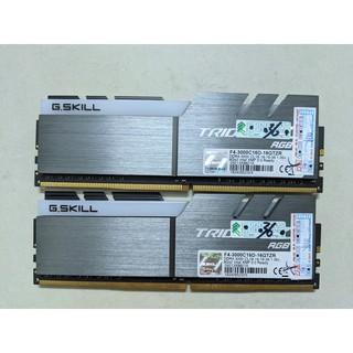 RAM desktop G.SKILL Trident Z RGB 16GB (2x8GB) DDR4 3000MHz F4-3000C16D-16GTZR BH 9/2021
