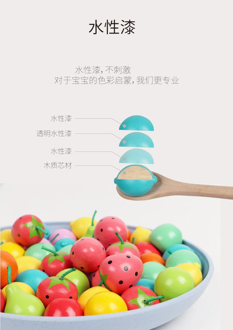 Bộ Đồ Chơi Nấu Ăn Bằng Gỗ Kích Thước 1.05mm Cho Bé