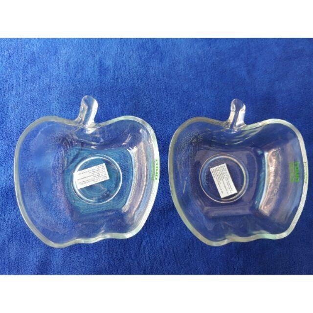 Combo 2 chén táo thủy tinh