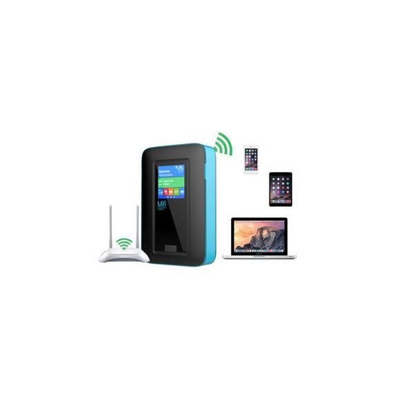 Bộ phát Wifi 4G tốc độ cao – Phát 10 thiết bị – Pin5200mAh kiêm sạc dự phòng [THANH LÝ GIÁ RẺ] Giá chỉ 790.000₫