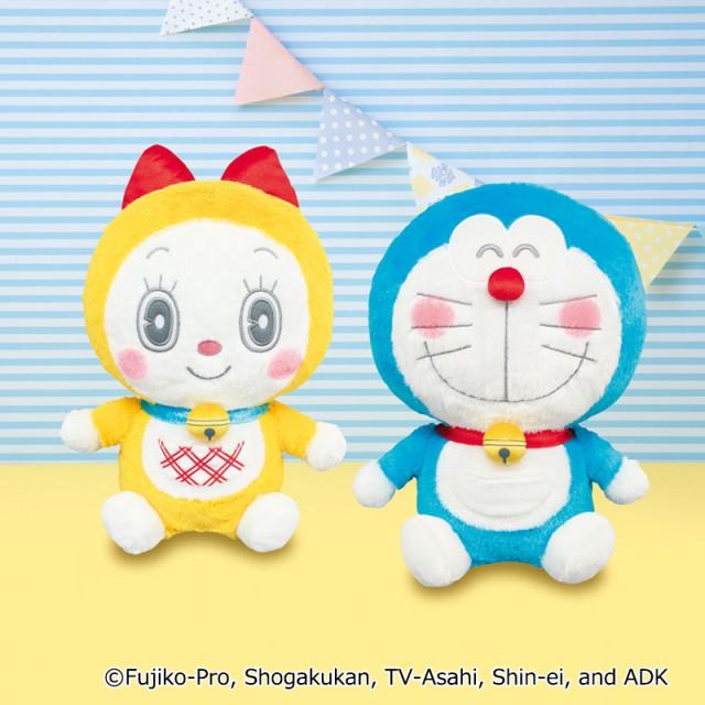 [Real] Doraemon – Doraemon & Dorami Big Plushy