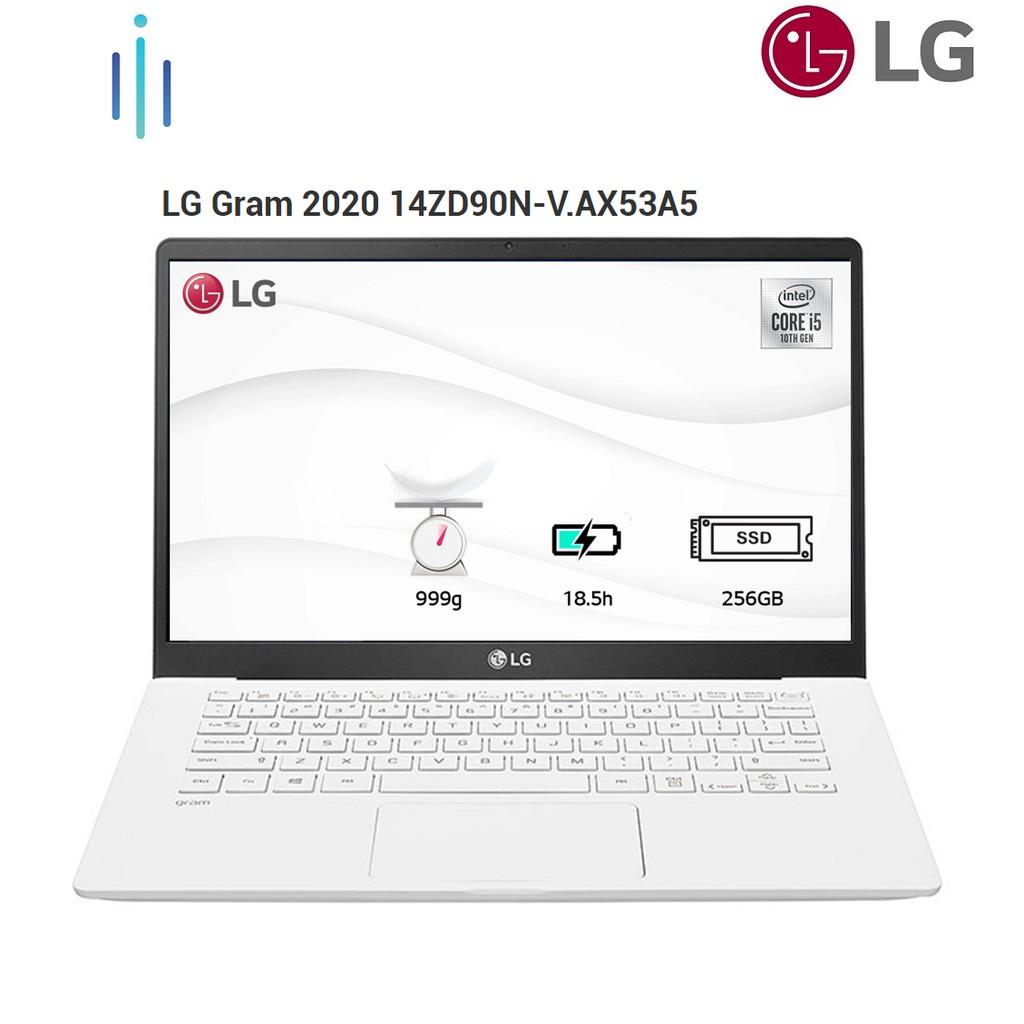Laptop LG Gram 2020 14ZD90N-V.AX53A5 i5-1035G7   8GB  256GB   14   FREE DOS - Chính Hãng