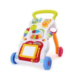 Xe tập di cho bé xe rất linh độngcó thể tháo rời để bé ngồi chơi lúc mỏi chânXe có nhạc và đènXe có thể tháo lắp dễ dàng