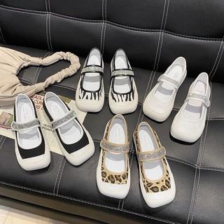 Giày Nữ Mới2021Mô Hình Vụ Nổ Miệng Giày Nữ Hoang Dã Thường Phẳng Thoải Mái Giày Mềm Chân Giày thumbnail
