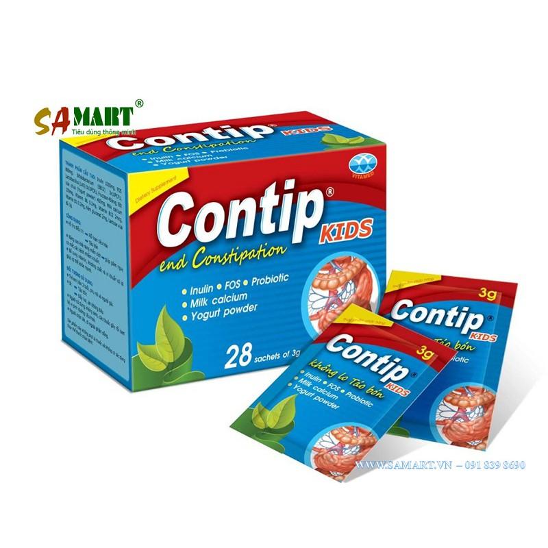 Contip Kids đặc trị táo bón cho trẻ nhỏ và m