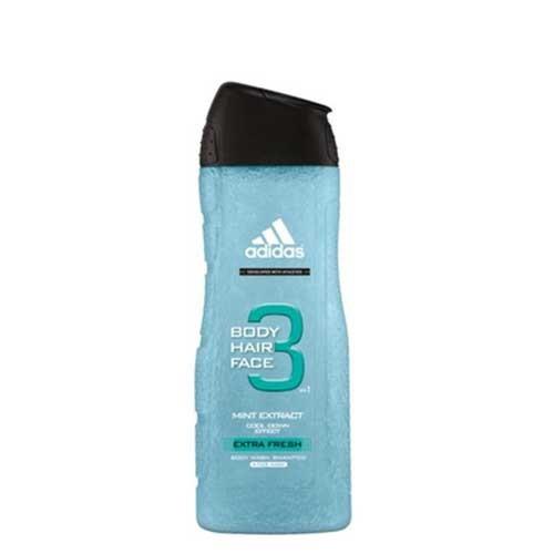 Tăm gội toàn thân Adidas Extra Fresh Mint Extract Cooling 400ml