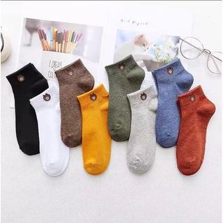 Hình ảnh Tất nữ cotton kiểu Vintage Hàn Quốc vớ co giãn kháng khuẩn Rosara B21-1