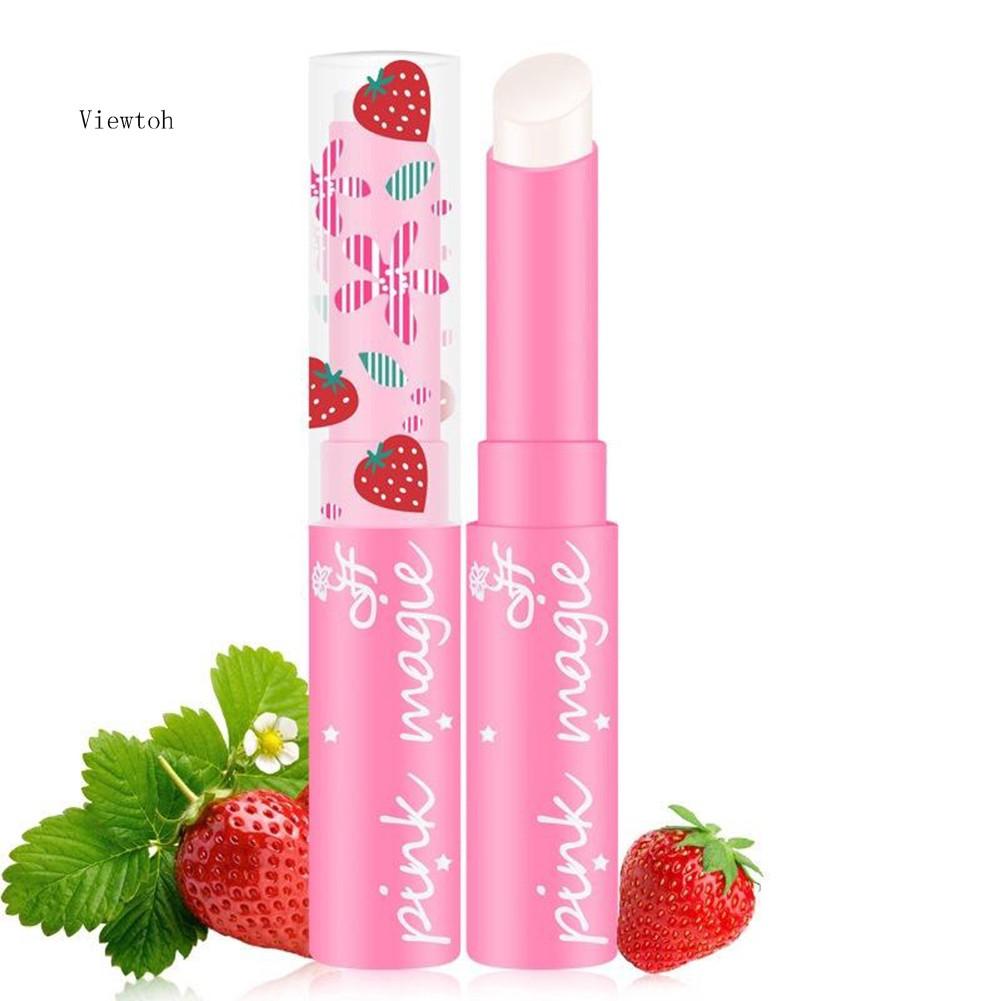 Son môi hương dâu thay đổi màu môi theo nhiệt độ độc đáo cho nữ
