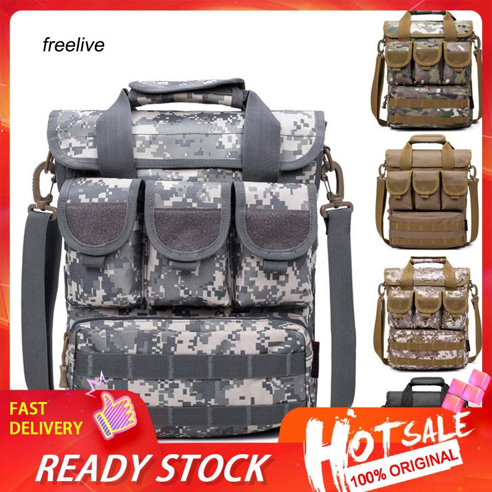 FLE Casual Camouflage Portable Outdoors Tactical Military Crossbody Shoulder Bag
