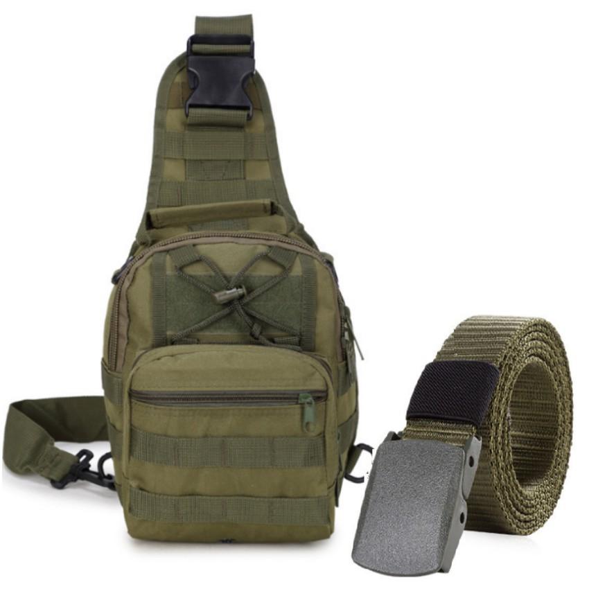 Thắt lưng dù chiến thuật và túi đeo ngực đi phượt phong cách Quân đội Mỹ + Tặng 1 móc khóa da cao cấ - 9980908 , 789059703 , 322_789059703 , 612000 , That-lung-du-chien-thuat-va-tui-deo-nguc-di-phuot-phong-cach-Quan-doi-My-Tang-1-moc-khoa-da-cao-ca-322_789059703 , shopee.vn , Thắt lưng dù chiến thuật và túi đeo ngực đi phượt phong cách Quân đội Mỹ + T