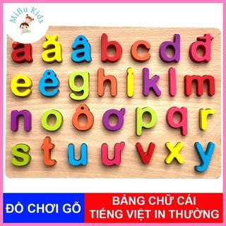 Bảng chữ cái Tiếng Việt hàng Việt Nam loại đẹp