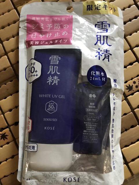 Đánh giá sản phẩm Kem chống nắng Kose Gel 90g của lik2109