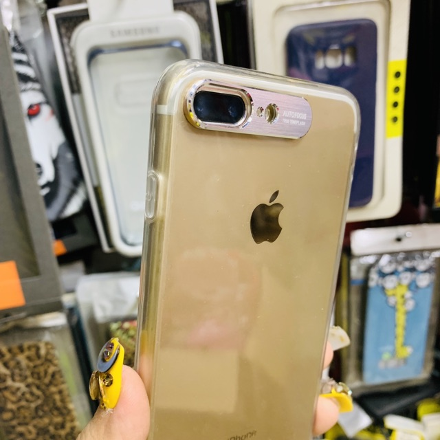 [Silicon dẻo] Ốp lưng bảo vệ camera iphone XS max XS 7plus XR