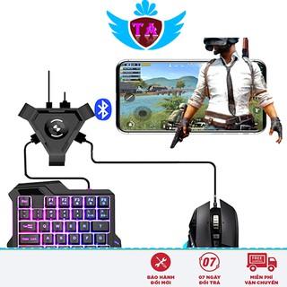 Dock Bluetooth Kết nối Chuột, Bàn phím với Điện thoại Chiến Game Mobile, PUBG