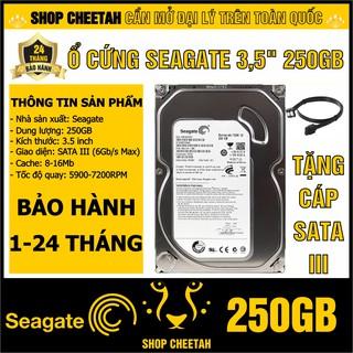"""HDD 3.5"""" Seagate 250GB mới 99% – Ổ cứng PC chính hãng – Bảo hành 1/24 tháng – Tháo từ máy đồng bộ nhập khẩu"""