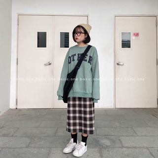 Áo Sweater Nỉ In Chữ OTHER Unisex Form Rộng 3 Màu Siêu Xinh thumbnail