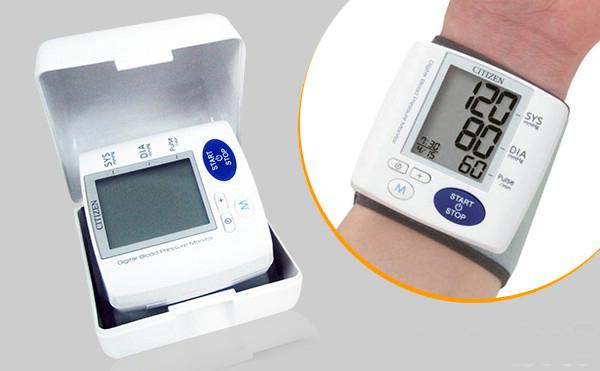 (HÀNG NHẬP KHẨU NHẬT BẢN) Máy đo huyết áp điện tử cổ tay - CITIZEN CH-617