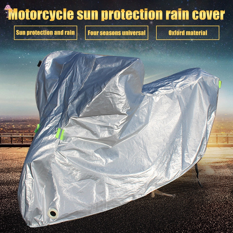 LL Motorcycle Covers Full Protective Anti UV Waterproof Dustproof Rain Covering Motorbike Hood Outdoor Indoor Cover @VN