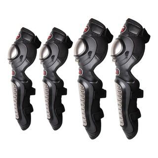 Bộ giáp bảo hộ moto,giáp đi phượt 2 chân kèm 2 tay ốp inox PRO cho bạn đi phượt an toàn hơn. không trầy xướt.