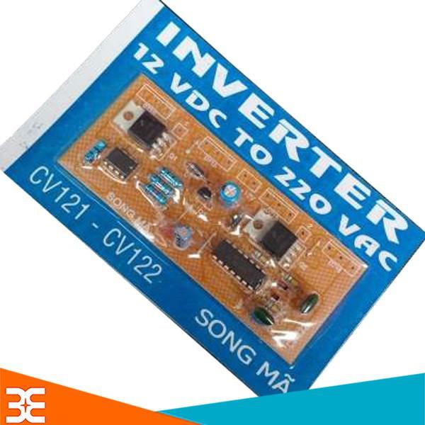 Mạch Tăng Áp Inverter 12VDC TO 220VAC CV121-CV122 ( XANH )