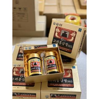 Cao hồng sâm 365 Hàn Quốc 6 năm tuổi siêu đậm đặc 240g x 2 lọ