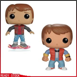 Funko Toy for Movie Back to The Future Marty Vinyl Movie Figure Cartoon Marty
