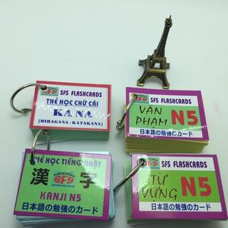 [ FREE SHIP ][Sỉ_100k] Bộ thẻ học tiếng nhật N5_khobuon thumbnail